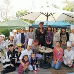ケーキ屋さんの2周年記念イベントにグラスサンドアート体験が出動!@大牟田