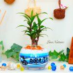 【開店祝い】串焼き・串カツ屋さんへ店名+ロゴ入りギフト。雰囲気&カラーまで再現!