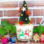 【クリスマス】「大切な人を守ってくれますように」と願いを掛けたグラスサンドアート